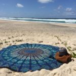 Thumbnail image for Round Beach Towel/Yoga Mat for $9.18 Shipped