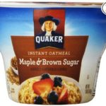 Thumbnail image for Quaker Instant Oatmeal Maple Brown Sugar Express Cups for $0.88 Each Shipped