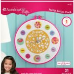 Thumbnail image for American Girl Crafts Button Clock Kit for $13.99
