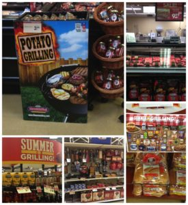 Giant Eagle Grilling Displays