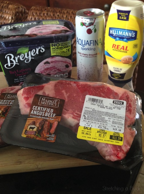 Giant Eagle Grilling Meal