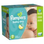 Thumbnail image for Pampers Baby Dry Size 2 Diapers for $0.15 Each Shipped