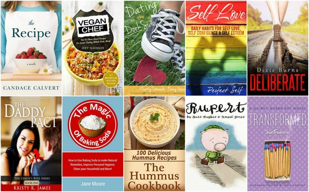 10 Free Kindle Books 8-2-16