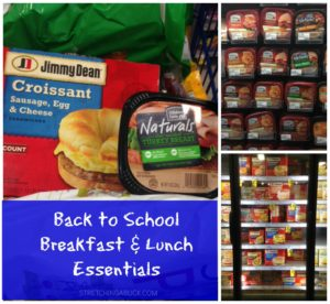 back to school breakfast and lunch essentials