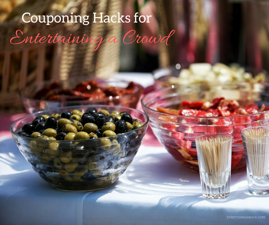 couponing hacks for entertaining a crowd