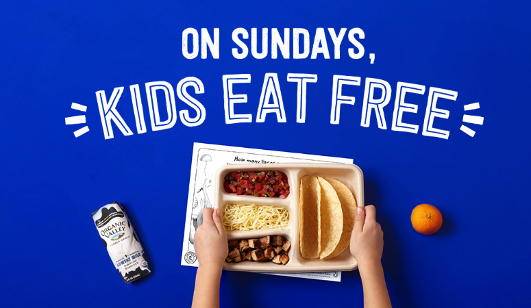 free chipotle kid's meals