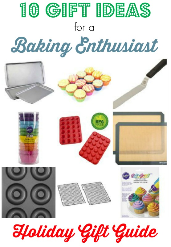10 gift ideas for a baker