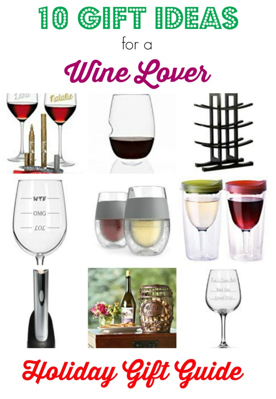 Good gift ideas for wine lovers
