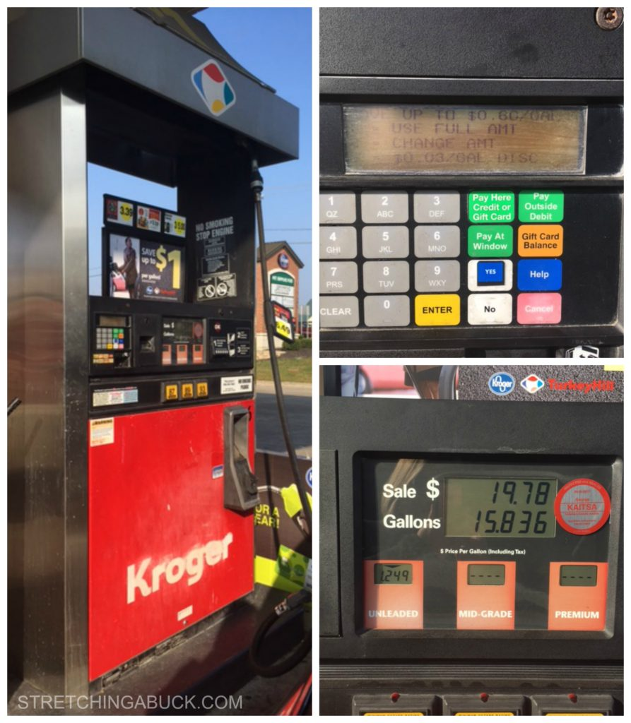 kroger fuel points