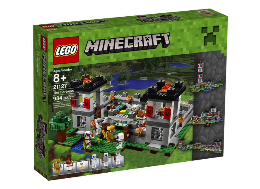 LEGO Minecraft The Fortress Building Kit