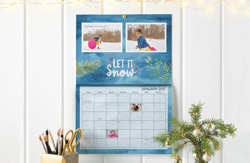 snapfish wall calendar deals