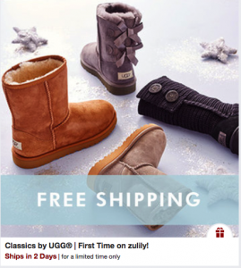 uggs sale zulily