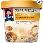 Thumbnail image for Quaker Real Medleys Banana Walnut Super Grains Oatmeal+ for $0.89 Per Cup Shipped