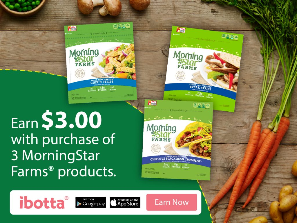 Earn $3 with MorningStar Farms® Ibotta Offer at Wa…