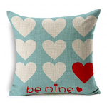 Thumbnail image for Be Mine Heart Pillow Cover