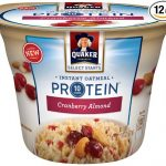 Thumbnail image for Quaker Protein Cranberry Almond Instant Oatmeal Cups for $0.67 Each Shipped