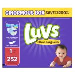 Thumbnail image for Luvs Ultra Leakguards Size 1 Diapers for $0.09 each Shipped