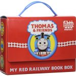 Thumbnail image for Thomas and Friends: My Red Railway Book Set for $5.99