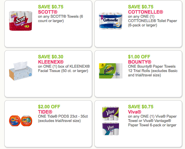 image about Bounty Printable Coupons named Paper Products Coupon codes: Charmin, Bounty, Puffs, Kleenex, VIVA
