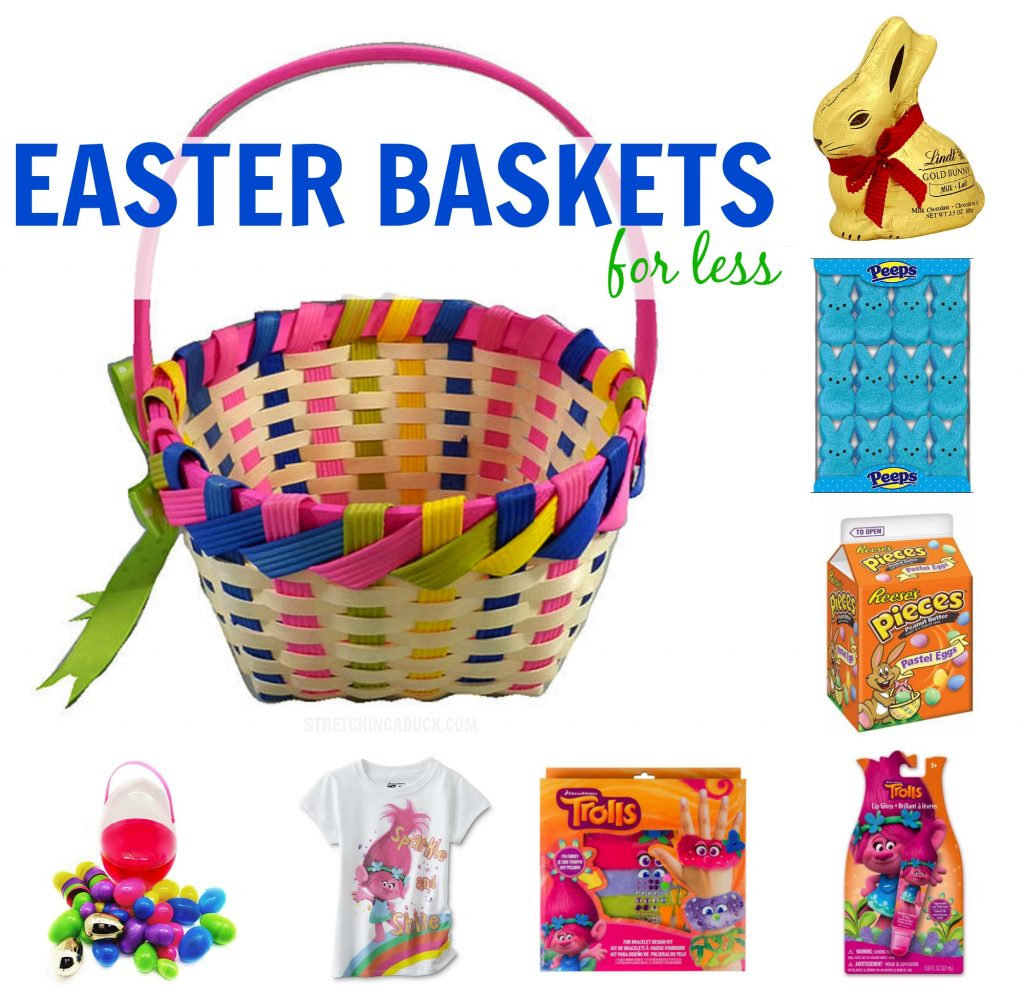 Easter Baskets for Less