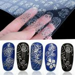 Thumbnail image for 108 Piece 3D Silver Flower Nail Art Stickers for $2.99 Shipped