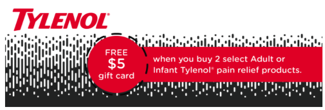 tylenol cartwheel coupon