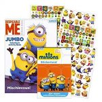 Thumbnail image for Despicable Me Minions Coloring Book with 295 Stickers for $6.95