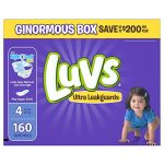 Thumbnail image for Luvs Ultra Leakguards Size 4 Diapers for $0.10 Each Shipped