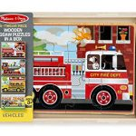 Thumbnail image for Melissa & Doug 4-in-1 Vehicles Puzzle Set for $7.99