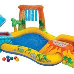 Thumbnail image for Dinosaur Play Center Swimming Pool for $33.48 Shipped