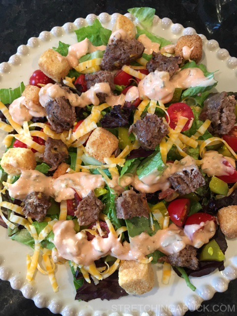 Cheeseburger Salad Recipes