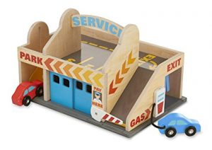 Melissa Amp Doug Service Station Parking Garage Amp Car Wash
