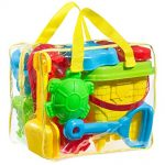 Thumbnail image for GoToys Beach Sand Toy Set with Bag for $16.99