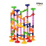 Thumbnail image for Funtok 105 Piece Marble Run Railway Construction Set for $19.98