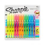 Thumbnail image for Sharpie Pocket Highlighters Chisel Tip 12-Pack for $4.97