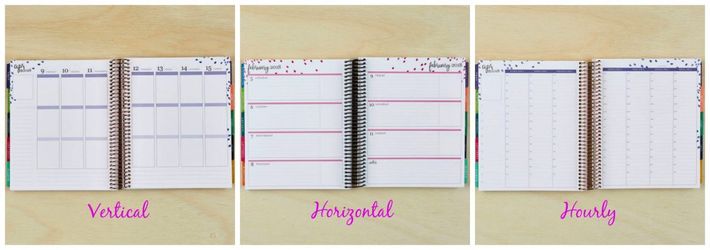 Erin Condren Life Planner Layouts