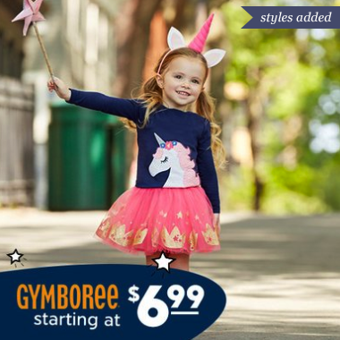 gymboree sale on zulily
