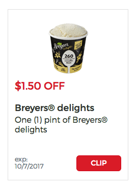 Breyers Delights Giant Eagle