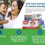 Thumbnail image for Save up to $45 on Huggies® Products at Sam's Club!