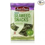 Thumbnail image for Annie Chun's Roasted Seaweed Wasabi Snacks for $0.76 per Pack Shipped