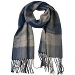 Thumbnail image for Women's Warm Lattice Plaid Blanket Scarf for $6.99