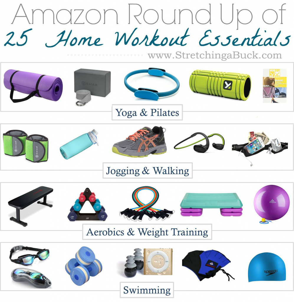 12.10 Home Workout Essentials from Amazon - STRETCHING BUCK