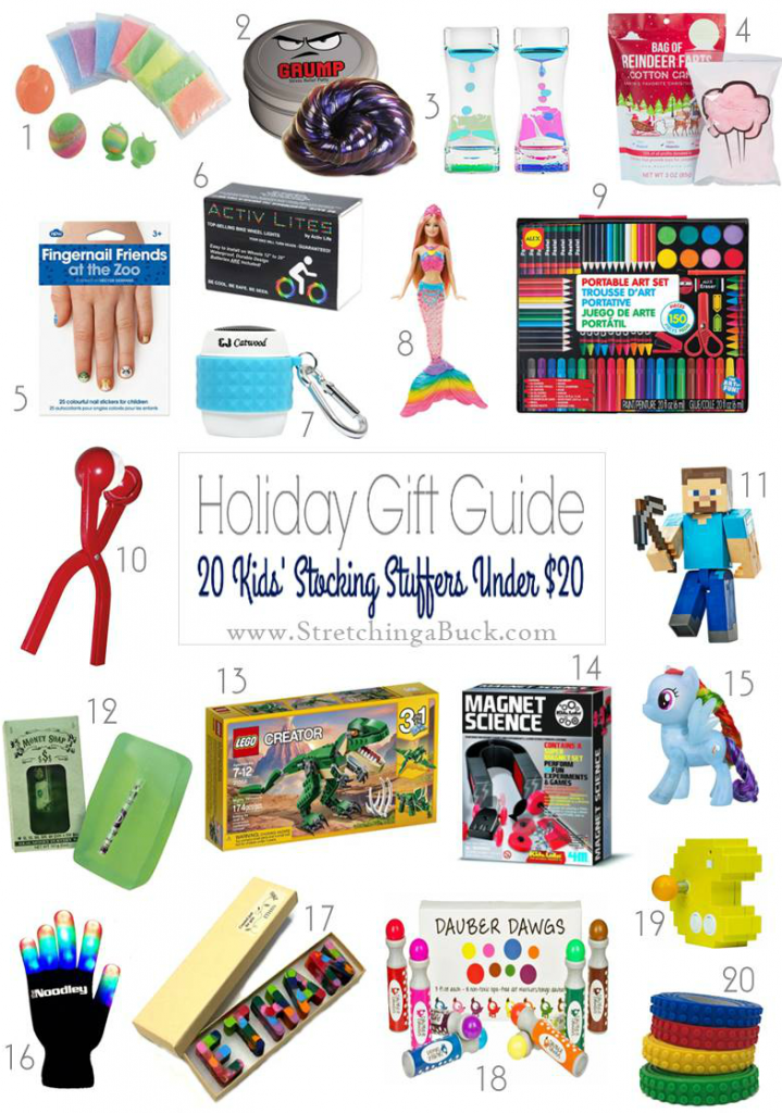 20 Stocking Stuffers Under 20
