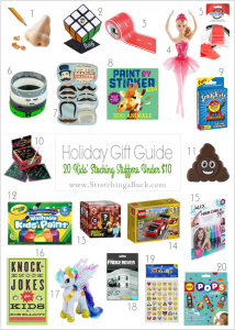 20 Stocking Stuffers for Kids for Under 10
