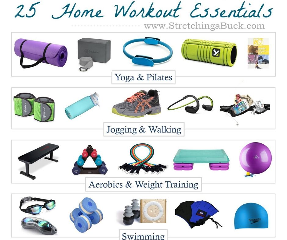 25 Home Workout Essentials!