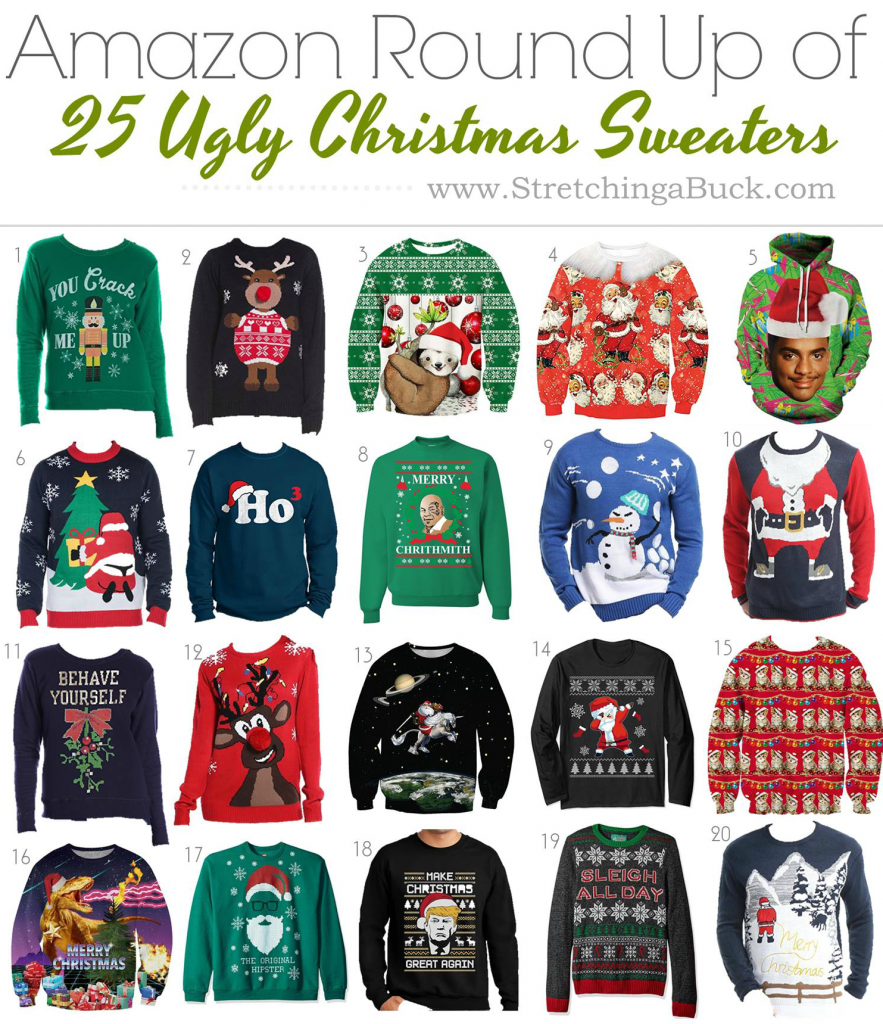 25 Ugly Christmas Sweaters