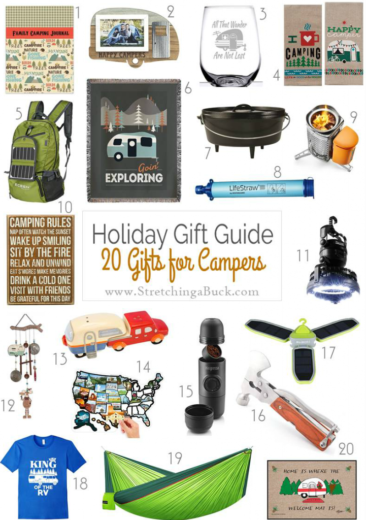 Gift Guide for Campers | 20 Amazing Gift Ideas!