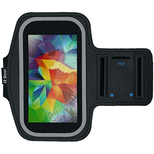 Running & Exercise Armband For Cell Phone With Key Holder