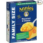 Thumbnail image for Annie's Family Size Macaroni & Cheese for $1.05 per Box Shipped