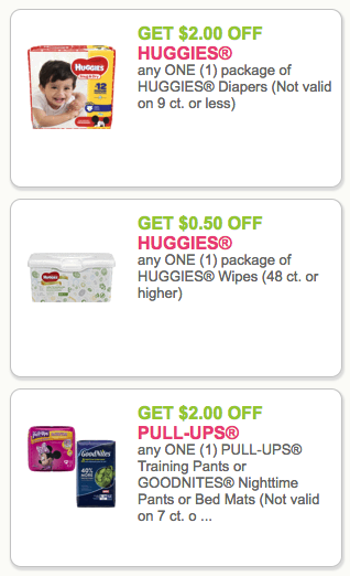 Printable diaper coupons 2019